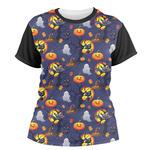 Halloween Night Women's Crew T-Shirt (Personalized)