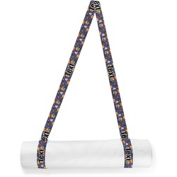 Halloween Night Yoga Mat Strap (Personalized)
