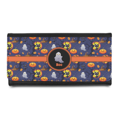 Halloween Night Leatherette Ladies Wallet (Personalized)