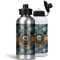 Vintage / Grunge Halloween Water Bottles- Aluminum (Personalized)