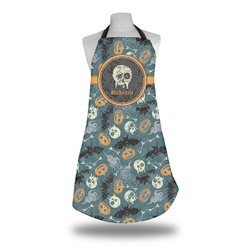 Vintage / Grunge Halloween Apron (Personalized)