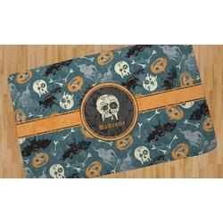 Vintage / Grunge Halloween Area Rug (Personalized)