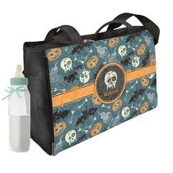Vintage / Grunge Halloween Diaper Bag (Personalized)