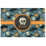 Vintage / Grunge Halloween Woven Mat (Personalized)