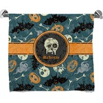 Vintage / Grunge Halloween Full Print Bath Towel (Personalized)