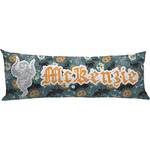 Vintage / Grunge Halloween Body Pillow Case (Personalized)