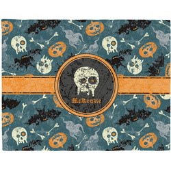 Vintage / Grunge Halloween Placemat (Fabric) (Personalized)