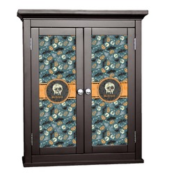 Vintage / Grunge Halloween Cabinet Decal - Custom Size (Personalized)