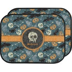 Vintage / Grunge Halloween Car Floor Mats (Back Seat) (Personalized)