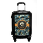Vintage / Grunge Halloween Carry On Hard Shell Suitcase (Personalized)