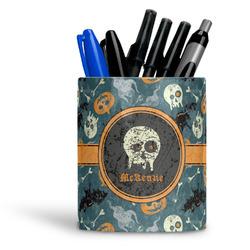 Vintage / Grunge Halloween Ceramic Pen Holder