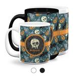 Vintage / Grunge Halloween Coffee Mugs (Personalized)