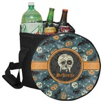 Vintage / Grunge Halloween Collapsible Cooler & Seat (Personalized)