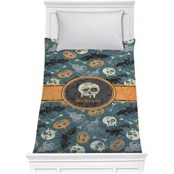 Vintage / Grunge Halloween Comforter - Twin (Personalized)