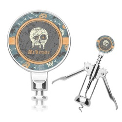 Vintage / Grunge Halloween Corkscrew (Personalized)