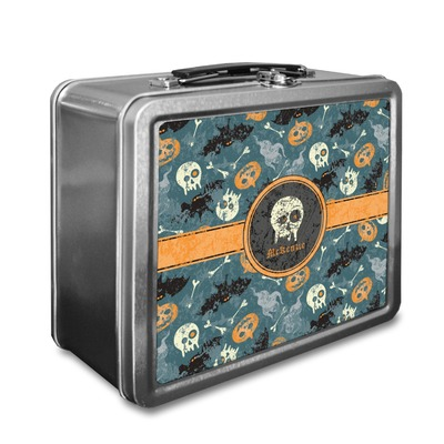 Vintage / Grunge Halloween Lunch Box (Personalized)
