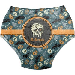 Vintage / Grunge Halloween Diaper Cover (Personalized)