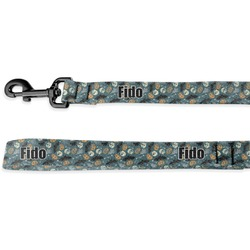 Vintage / Grunge Halloween Deluxe Dog Leash (Personalized)