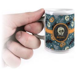 Vintage / Grunge Halloween Espresso Cups (Personalized)