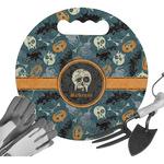 Vintage / Grunge Halloween Gardening Knee Cushion (Personalized)