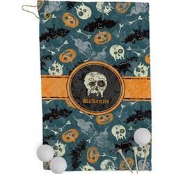 Vintage / Grunge Halloween Golf Towel - Full Print (Personalized)