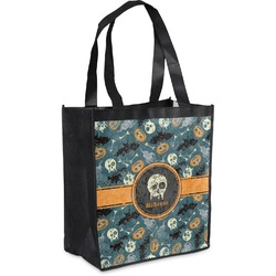 Vintage / Grunge Halloween Grocery Bag (Personalized)