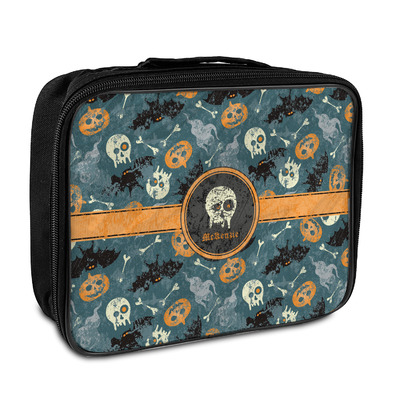 Vintage / Grunge Halloween Insulated Lunch Bag (Personalized)