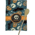 Vintage / Grunge Halloween Kitchen Towel - Full Print (Personalized)