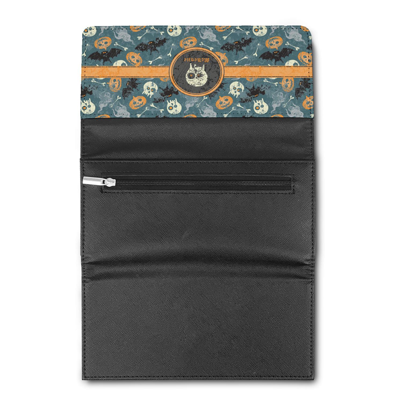 vintage grunge halloween ladies wallet personalized opt