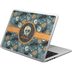 Vintage / Grunge Halloween Laptop Skin - Custom Sized (Personalized)