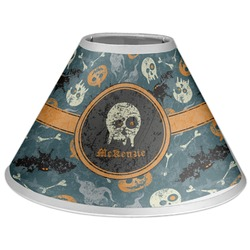 Vintage / Grunge Halloween Coolie Lamp Shade (Personalized)
