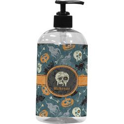 Vintage / Grunge Halloween Plastic Soap / Lotion Dispenser (Personalized)