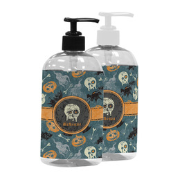 Vintage / Grunge Halloween Plastic Soap / Lotion Dispenser (Personalized)