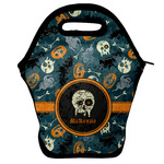 Vintage / Grunge Halloween Lunch Bag w/ Name or Text