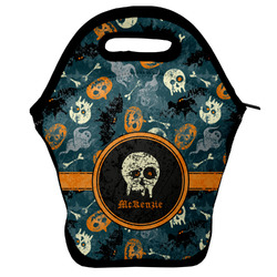 Vintage / Grunge Halloween Lunch Bag (Personalized)