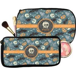 Vintage / Grunge Halloween Makeup / Cosmetic Bag (Personalized)