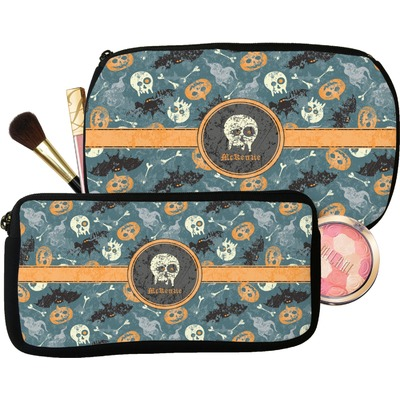 Vintage / Grunge Halloween Makeup / Cosmetic Bag (Personalized)