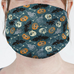 Vintage / Grunge Halloween Face Mask Cover (Personalized)
