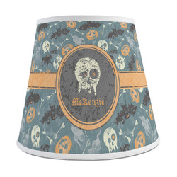 Vintage / Grunge Halloween Empire Lamp Shade (Personalized)