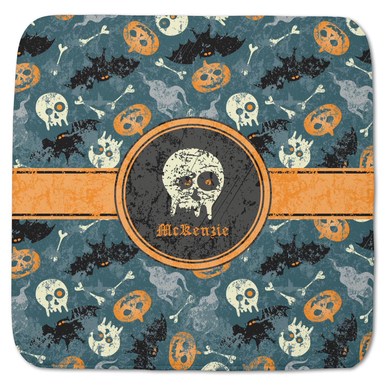Vintage Grunge Halloween Memory Foam Bath Mat Personalized Youcustomizeit