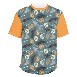 Vintage / Grunge Halloween Men's Crew T-Shirt (Personalized)