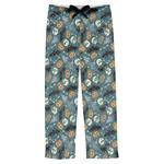 Vintage / Grunge Halloween Mens Pajama Pants (Personalized)