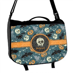 Vintage / Grunge Halloween Messenger Bag (Personalized)
