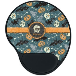 Vintage / Grunge Halloween Mouse Pad with Wrist Support