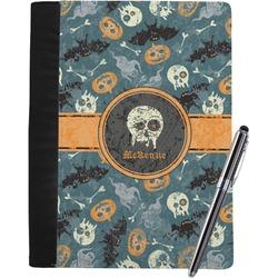 Vintage / Grunge Halloween Notebook Padfolio (Personalized)