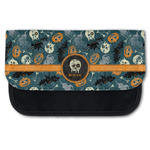 Vintage / Grunge Halloween Canvas Pencil Case w/ Name or Text