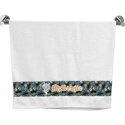 Vintage / Grunge Halloween Bath Towel (Personalized)