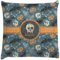 Vintage / Grunge Halloween Euro Sham Pillow Case (Personalized)