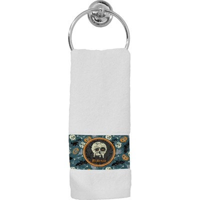 Vintage / Grunge Halloween Hand Towel (Personalized)
