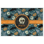 Vintage / Grunge Halloween Laminated Placemat w/ Name or Text
